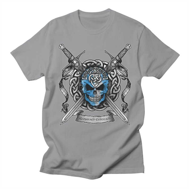 Celtic Warrior Men's Regular T-Shirt by Celtic Hammer Club