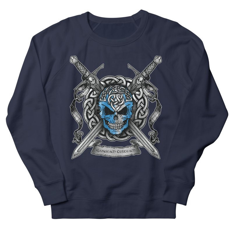 Celtic Warrior Women's French Terry Sweatshirt by Celtic Hammer Club