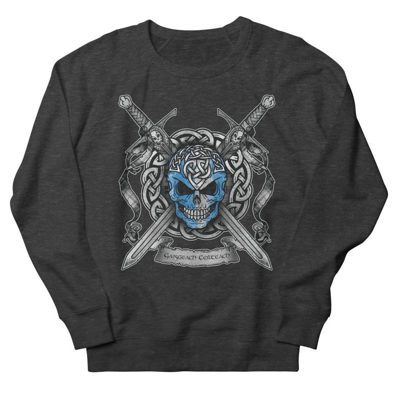 Celtic Warrior Men's French Terry Sweatshirt by Celtic Hammer Club