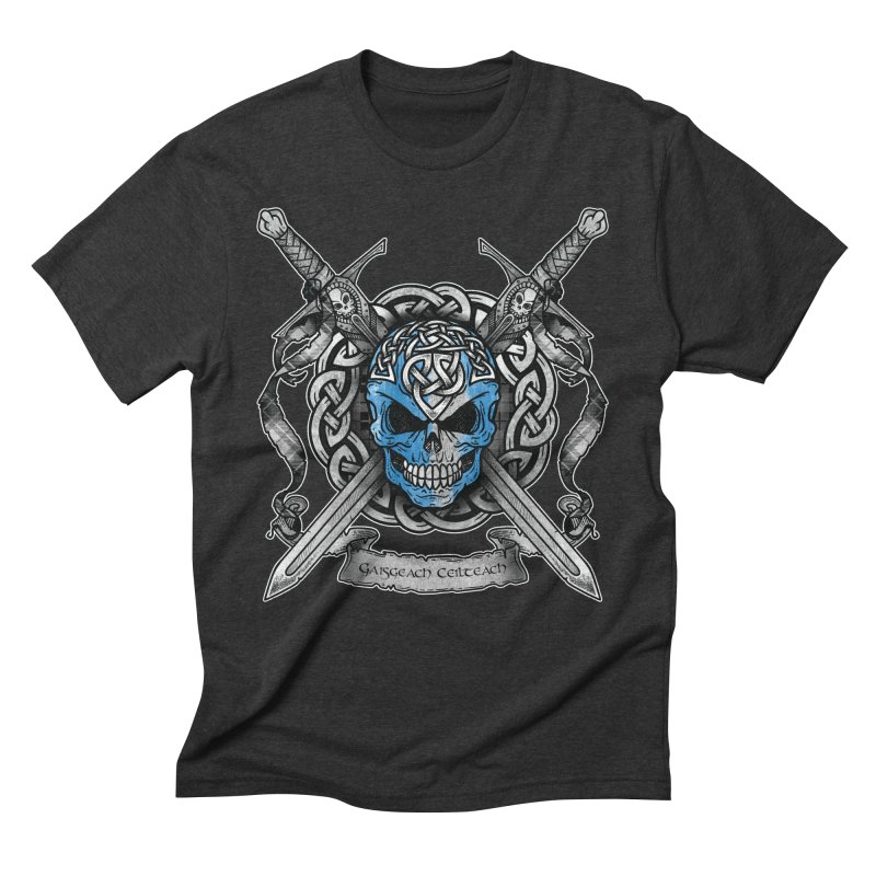 Celtic Warrior Men's Triblend T-Shirt by Celtic Hammer Club