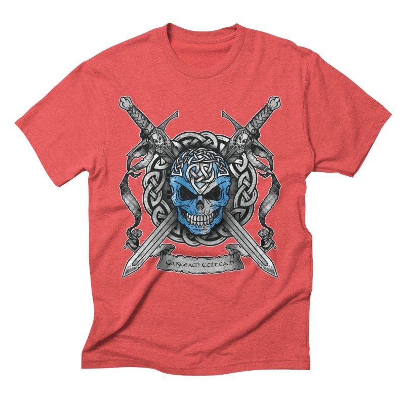 Celtic Warrior Men's Triblend T-Shirt by Celtic Hammer Club