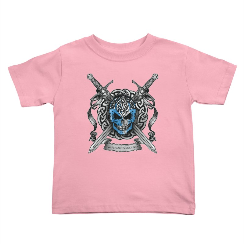 Celtic Warrior Kids Toddler T-Shirt by Celtic Hammer Club