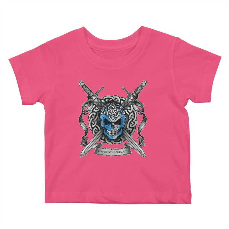 Celtic Warrior Kids Baby T-Shirt by Celtic Hammer Club