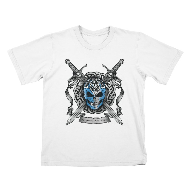 Celtic Warrior Kids T-Shirt by Celtic Hammer Club