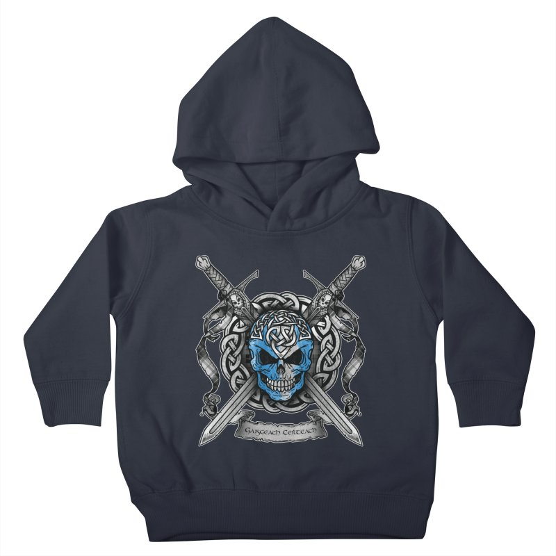 Celtic Warrior Kids Toddler Pullover Hoody by Celtic Hammer Club