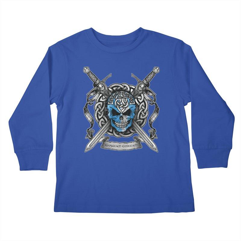Celtic Warrior Kids Longsleeve T-Shirt by Celtic Hammer Club