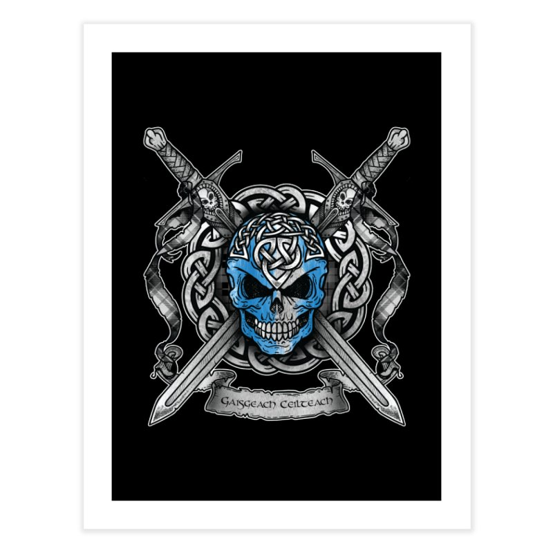 Celtic Warrior Home Fine Art Print by Celtic Hammer Club
