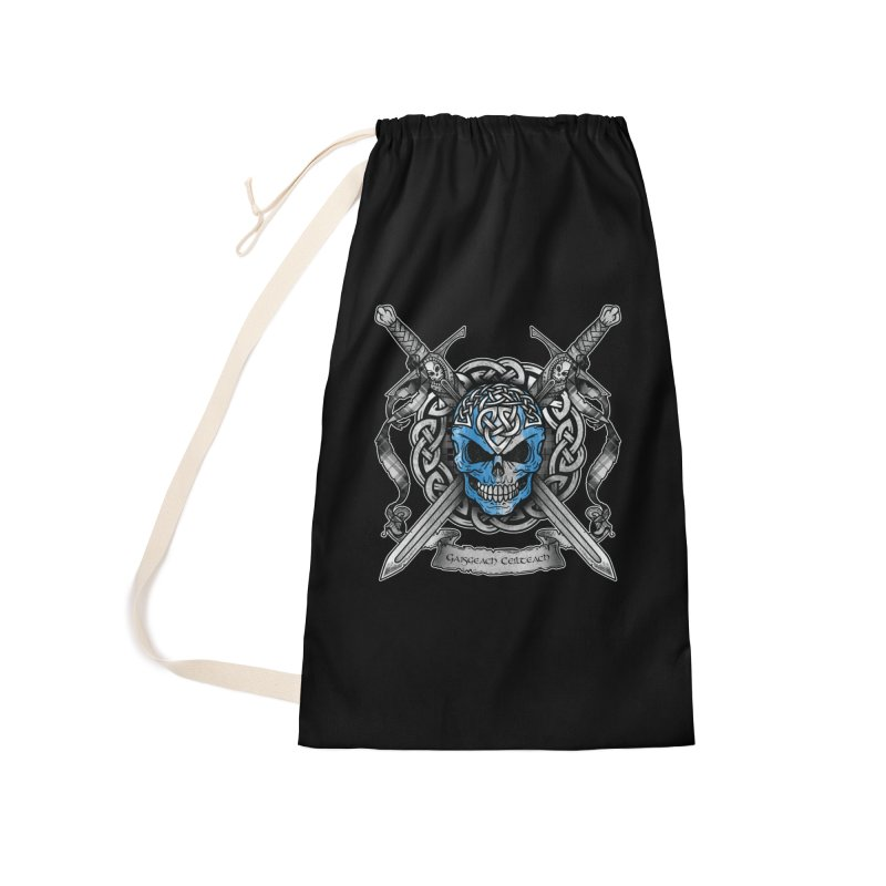 Celtic Warrior Accessories Laundry Bag Bag by Celtic Hammer Club