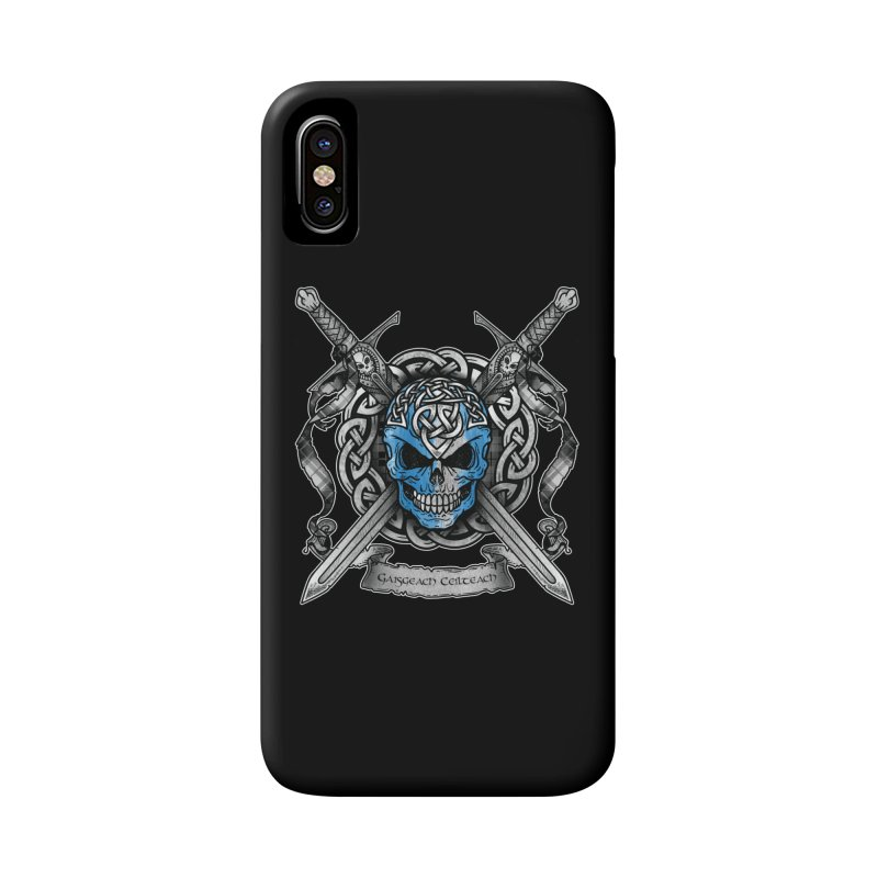Celtic Warrior Accessories Phone Case by Celtic Hammer Club
