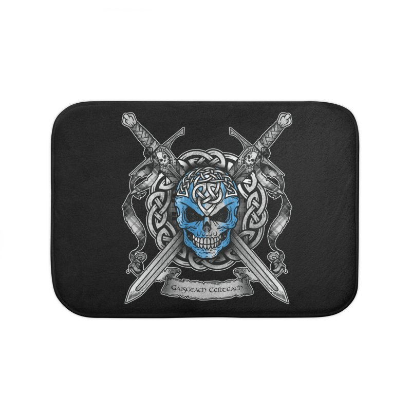 Celtic Warrior Home Bath Mat by Celtic Hammer Club