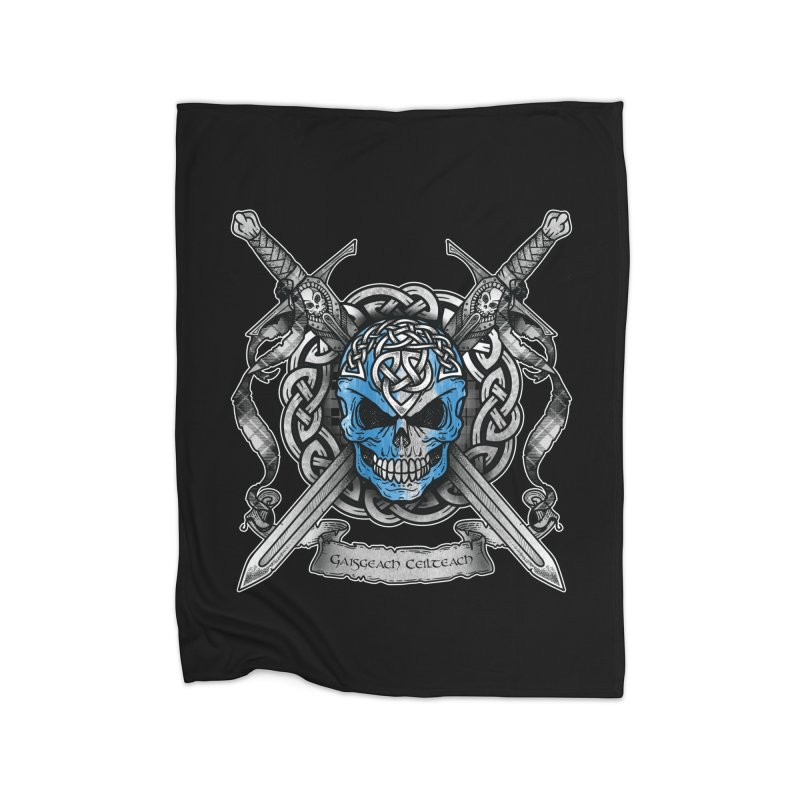 Celtic Warrior Home Blanket by Celtic Hammer Club