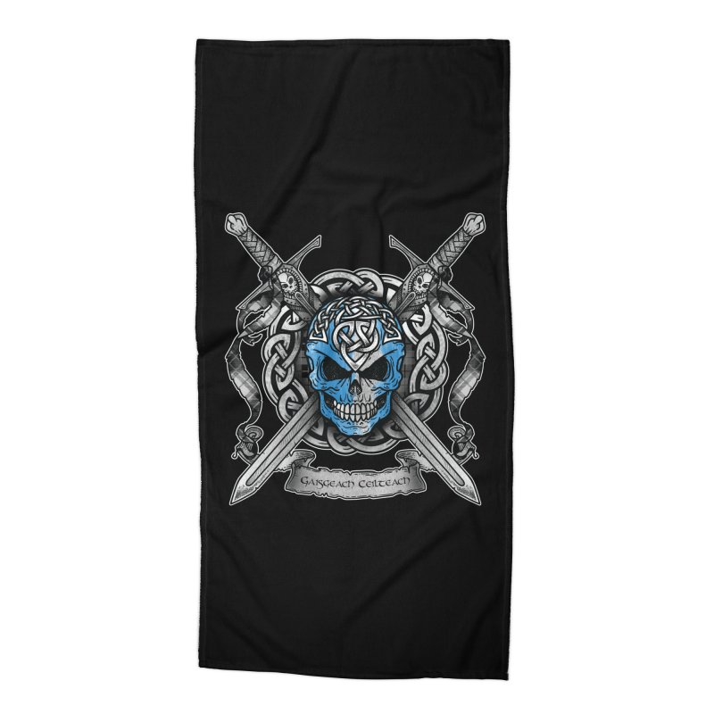 Celtic Warrior Accessories Beach Towel by Celtic Hammer Club