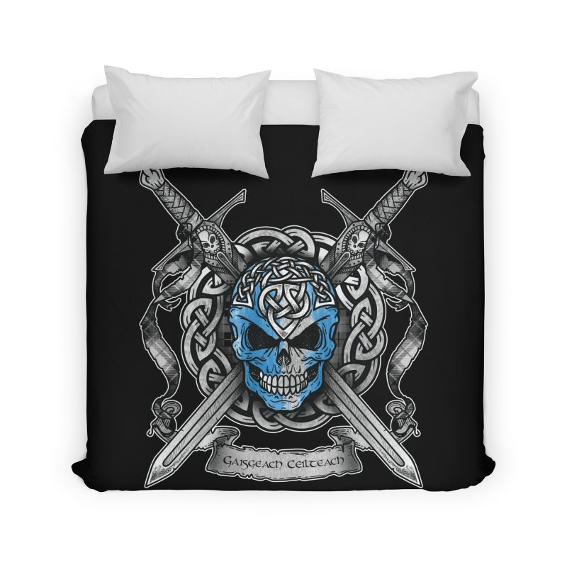 Celtic Warrior Home Duvet by Celtic Hammer Club