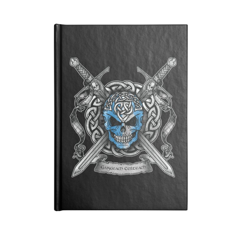 Celtic Warrior Accessories Blank Journal Notebook by Celtic Hammer Club