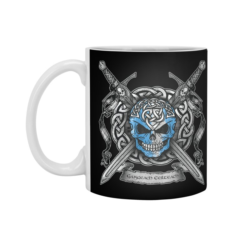 Celtic Warrior Accessories Standard Mug by Celtic Hammer Club