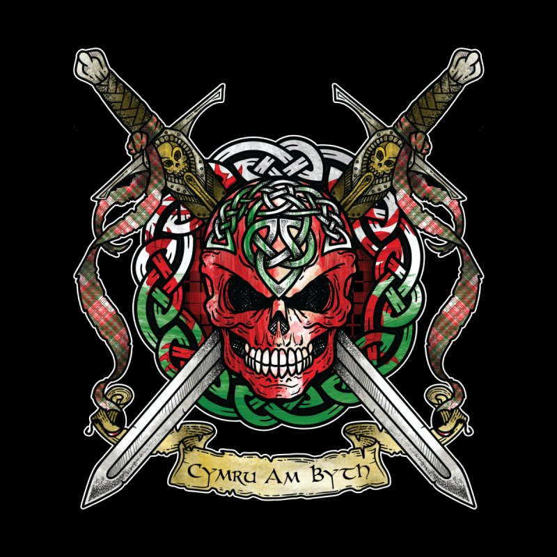 Celtic Warrior: Wales Women's Tank by Celtic Hammer Club