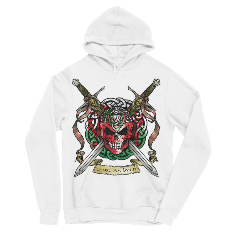 Celtic Warrior: Wales Women's Sponge Fleece Pullover Hoody by Celtic Hammer Club