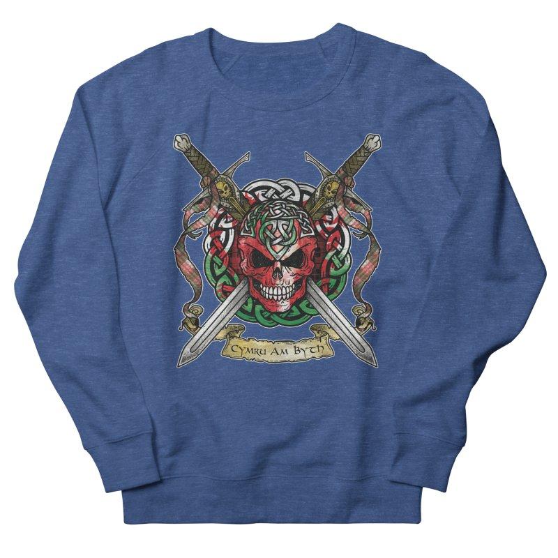 Celtic Warrior: Wales Men's Sweatshirt by Celtic Hammer Club