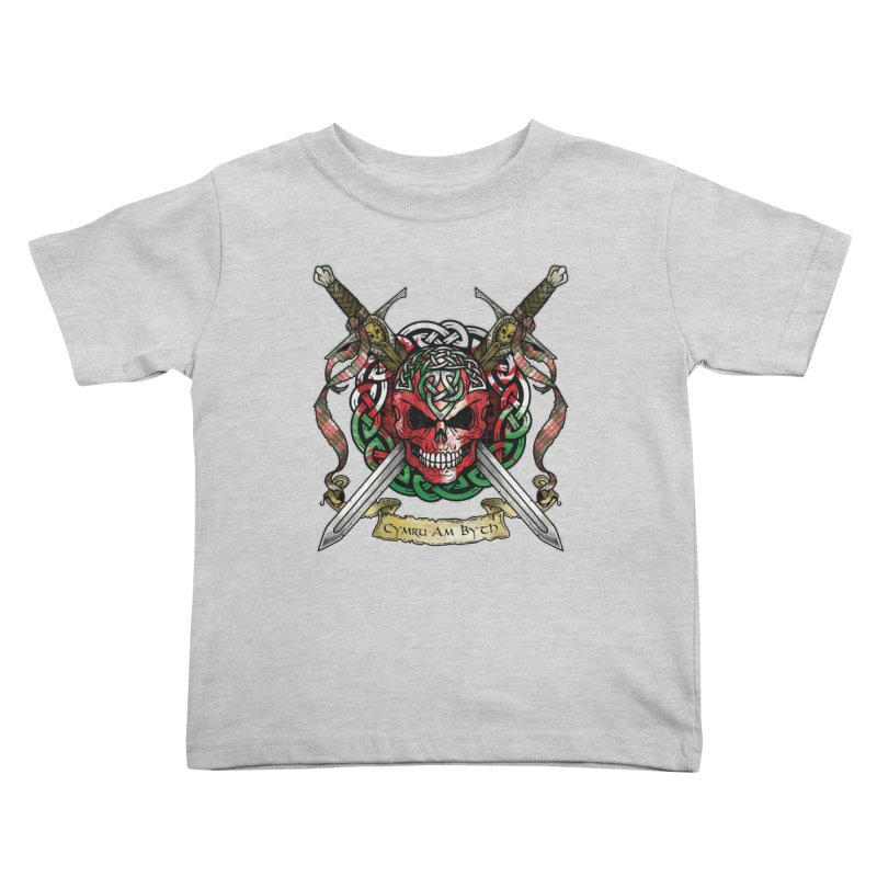 Celtic Warrior: Wales Kids Toddler T-Shirt by Celtic Hammer Club
