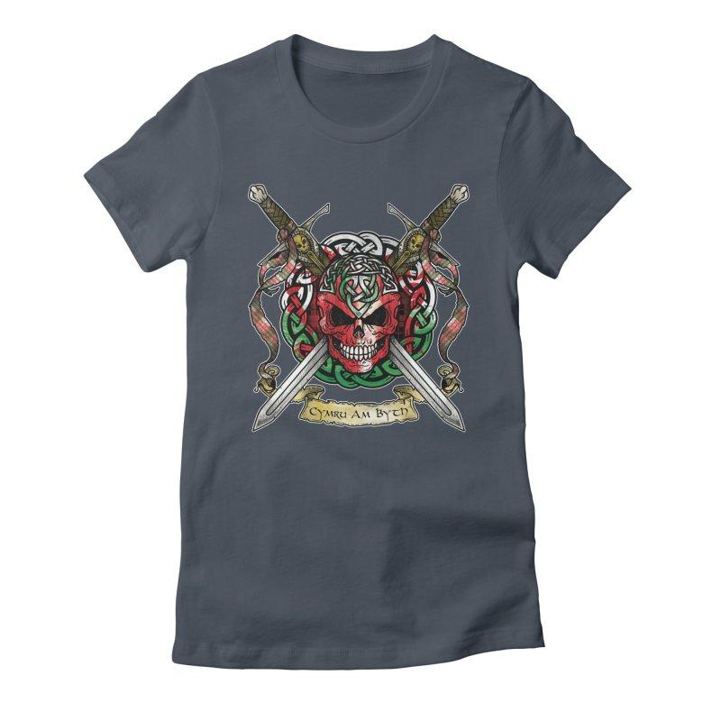 Celtic Warrior: Wales Women's T-Shirt by Celtic Hammer Club