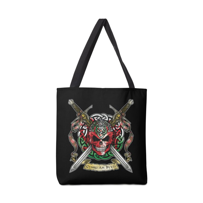 Celtic Warrior: Wales Accessories Tote Bag Bag by Celtic Hammer Club
