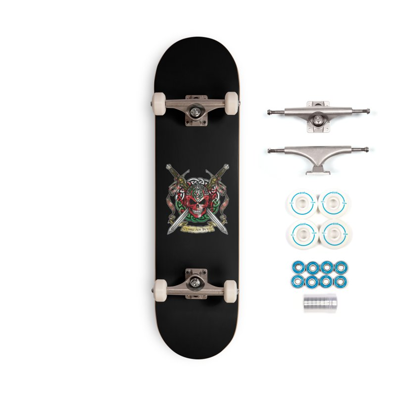 Celtic Warrior: Wales Accessories Complete - Basic Skateboard by Celtic Hammer Club