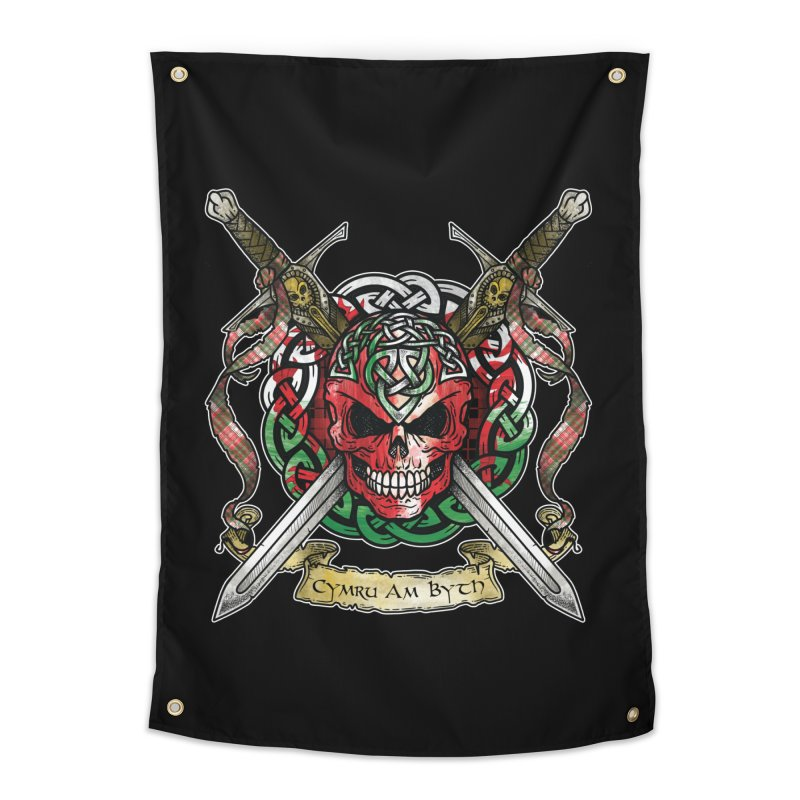 Celtic Warrior: Wales Home Tapestry by Celtic Hammer Club