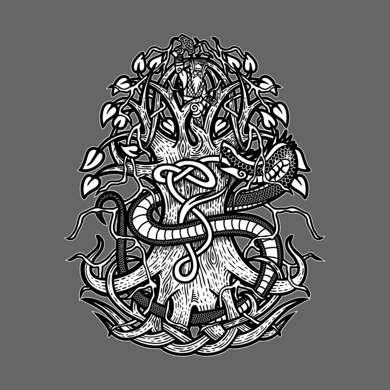 Yggdrasil Ragnarok Kids T-Shirt by Celtic Hammer Club