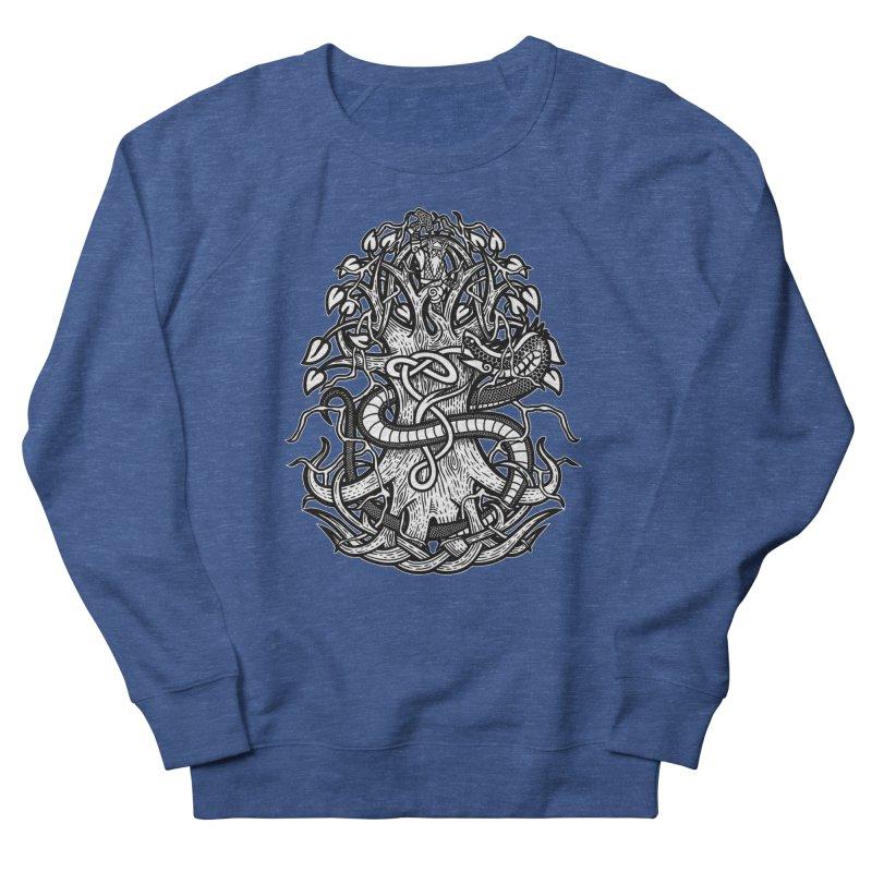 Yggdrasil Ragnarok Men's Sweatshirt by Celtic Hammer Club
