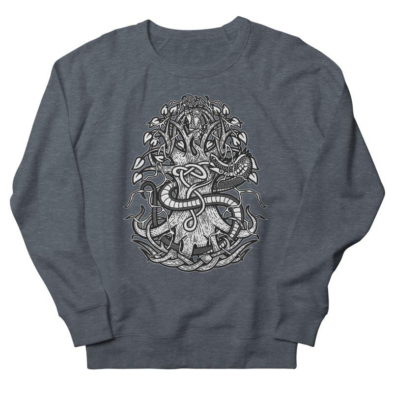 Yggdrasil Ragnarok Women's French Terry Sweatshirt by Celtic Hammer Club