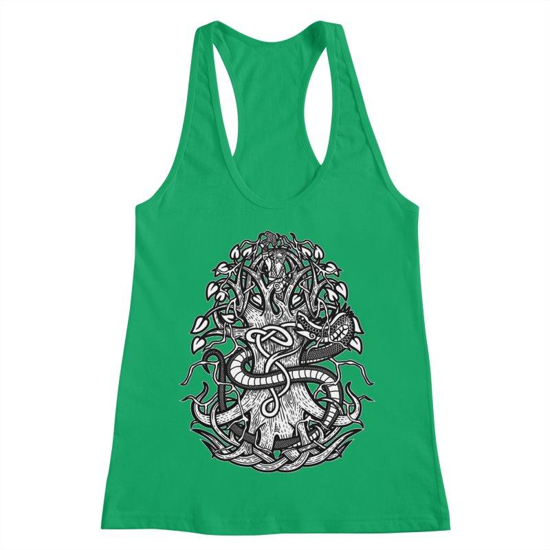 Yggdrasil Ragnarok Women's Tank by Celtic Hammer Club
