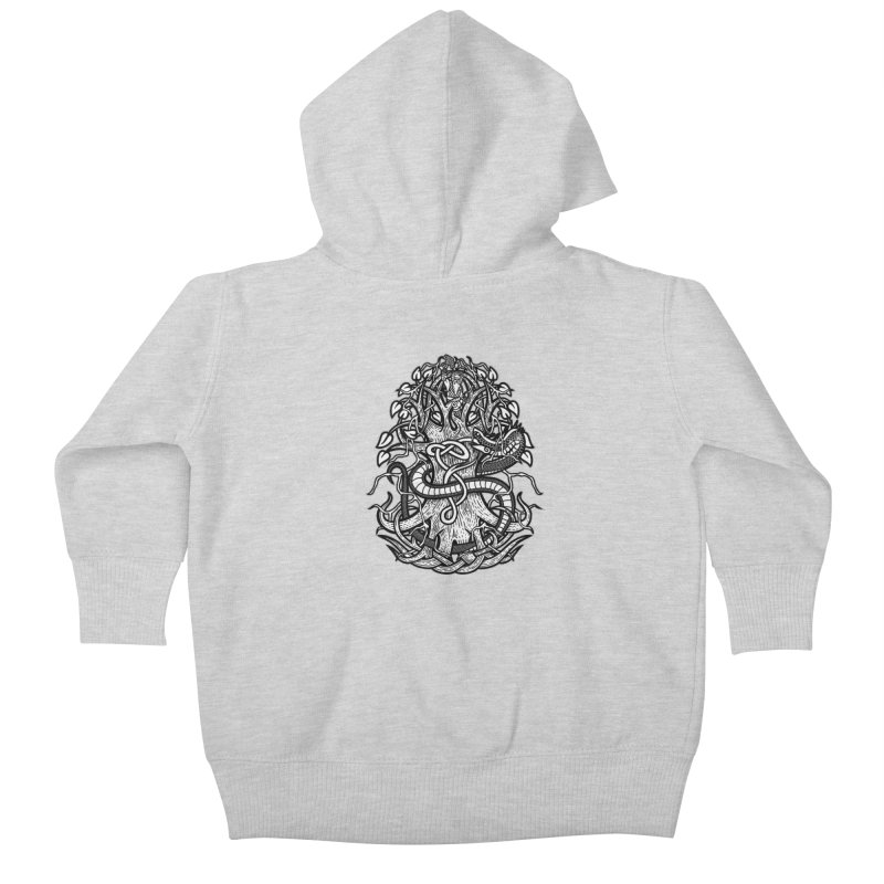 Yggdrasil Ragnarok Kids Baby Zip-Up Hoody by Celtic Hammer Club