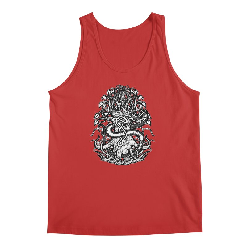 Yggdrasil Ragnarok Men's Regular Tank by Celtic Hammer Club