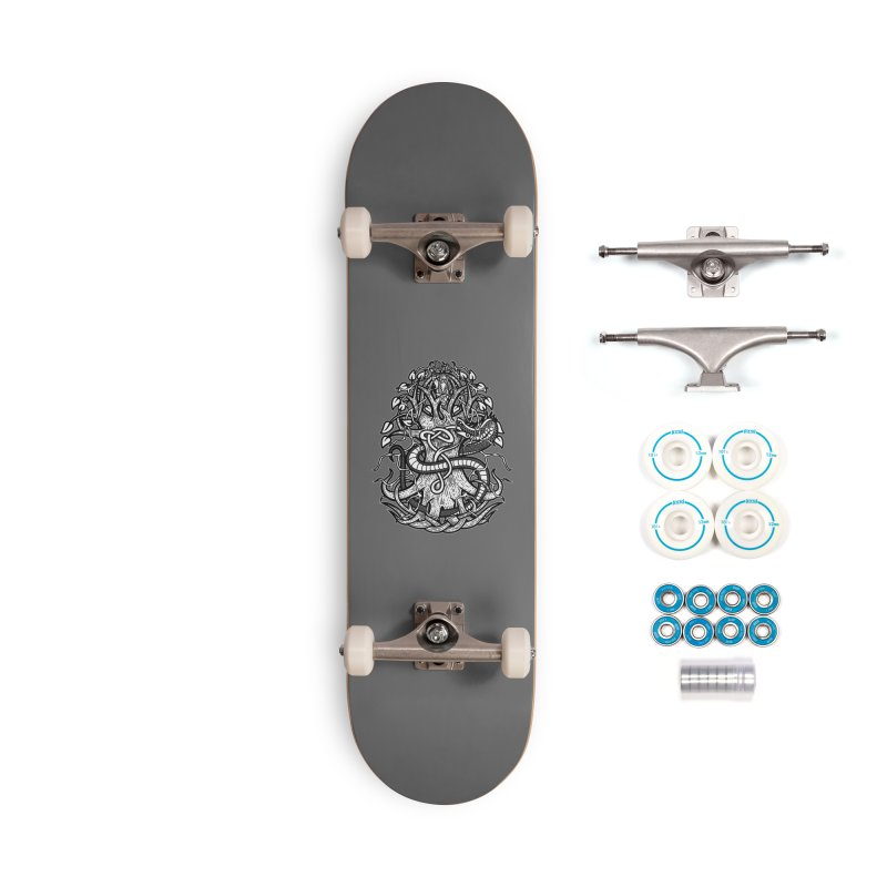 Yggdrasil Ragnarok Accessories Complete - Basic Skateboard by Celtic Hammer Club