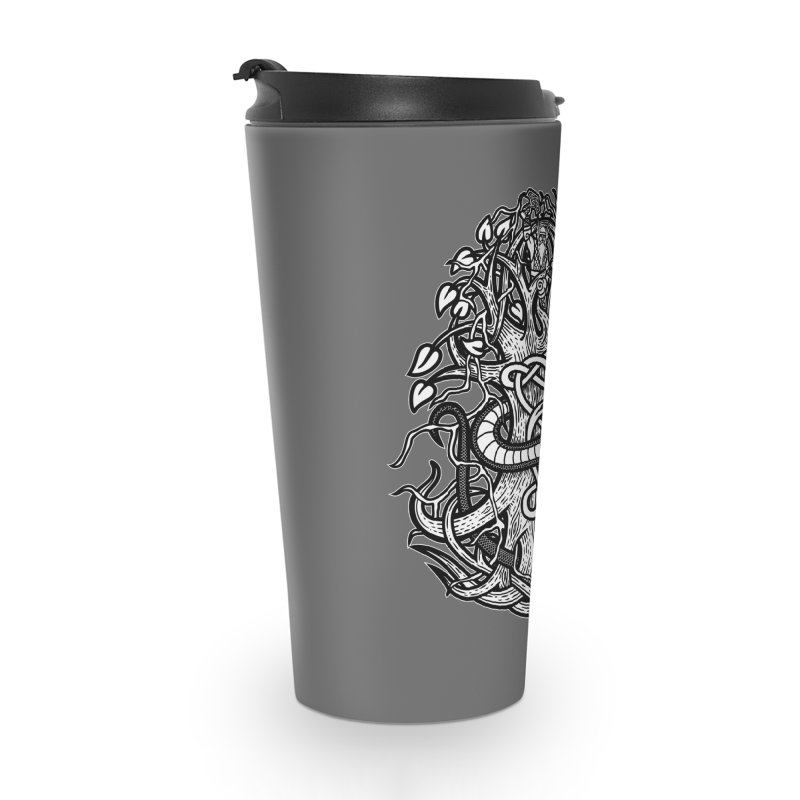Yggdrasil Ragnarok Accessories Travel Mug by Celtic Hammer Club