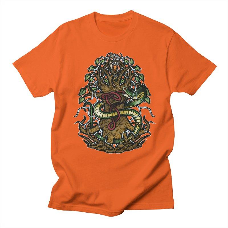 Yggdrasil Ragnarok (Full Color) Women's Regular Unisex T-Shirt by Celtic Hammer Club