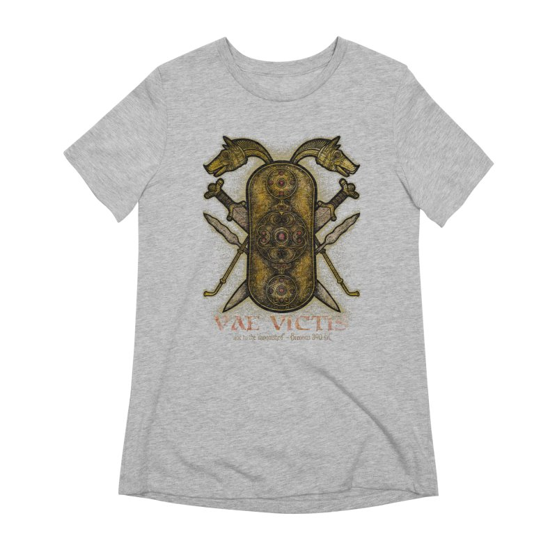 Vae Victis - Woe to the Vanquished Women's Extra Soft T-Shirt by Celtic Hammer Club
