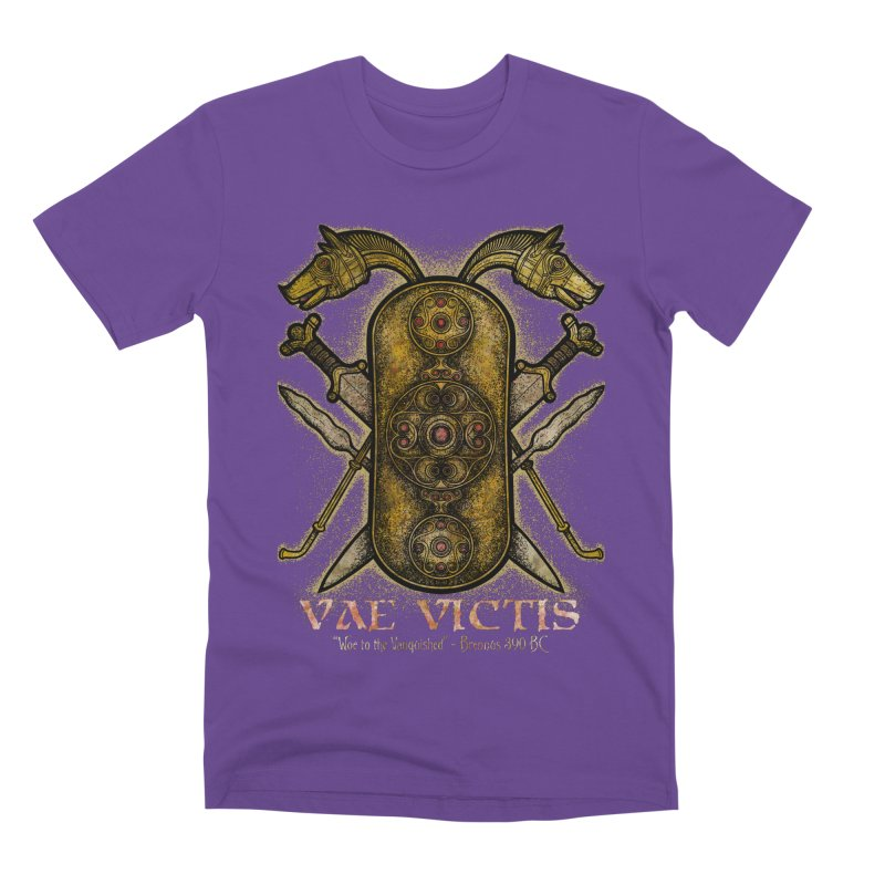Vae Victis - Woe to the Vanquished Men's Premium T-Shirt by Celtic Hammer Club