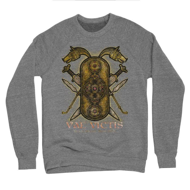 Vae Victis - Woe to the Vanquished Men's Sponge Fleece Sweatshirt by Celtic Hammer Club