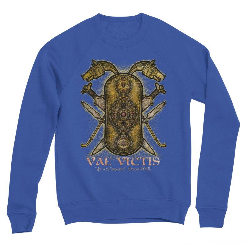 Vae Victis - Woe to the Vanquished Women's Sponge Fleece Sweatshirt by Celtic Hammer Club