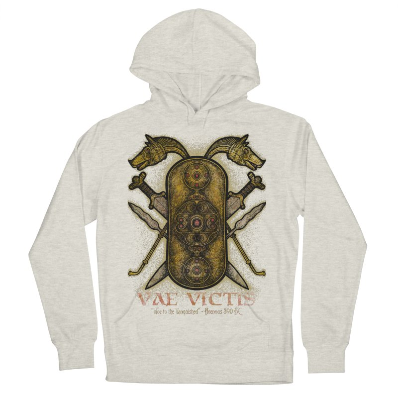 Vae Victis - Woe to the Vanquished Women's French Terry Pullover Hoody by Celtic Hammer Club