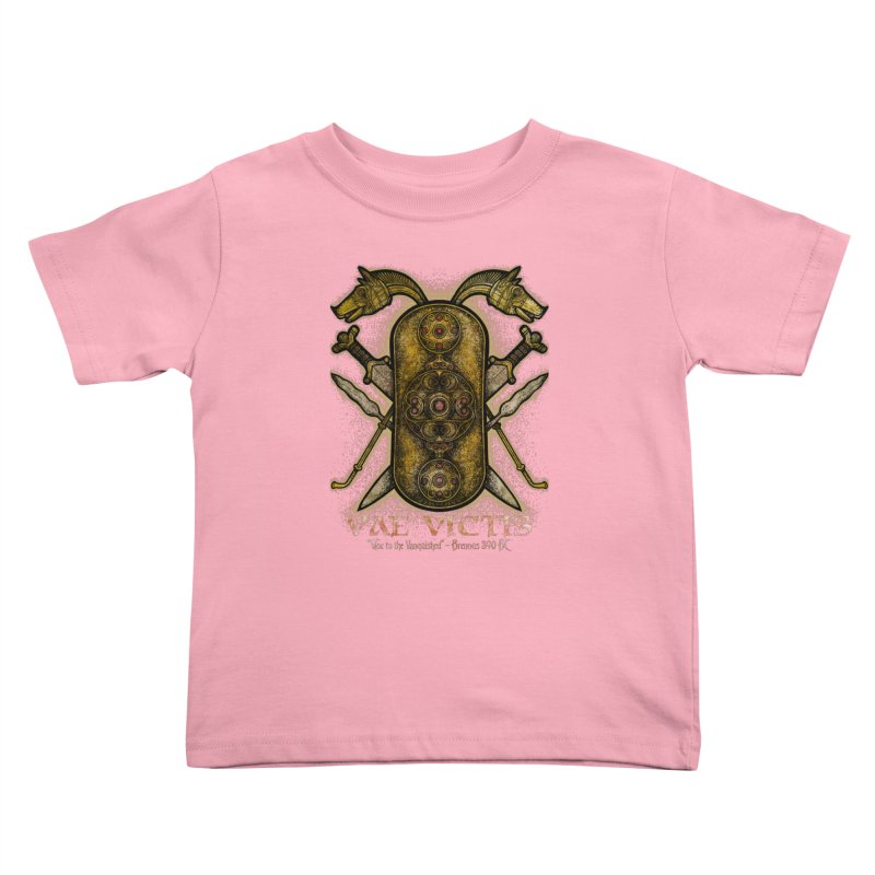 Vae Victis - Woe to the Vanquished Kids Toddler T-Shirt by Celtic Hammer Club