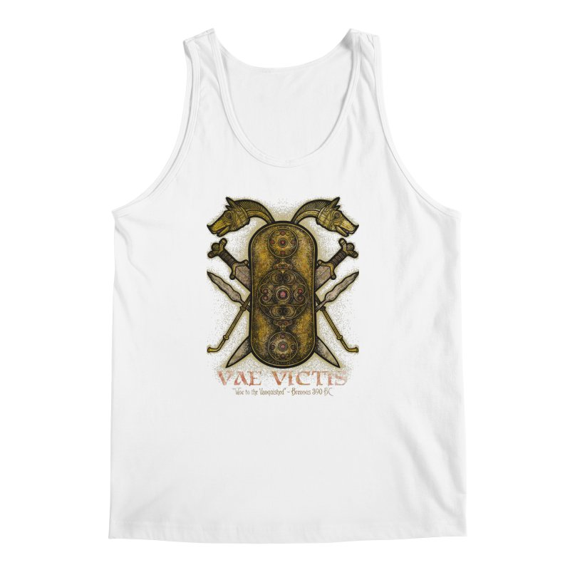 Vae Victis - Woe to the Vanquished Men's Regular Tank by Celtic Hammer Club