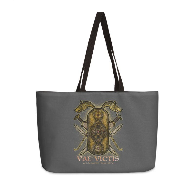 Vae Victis - Woe to the Vanquished Accessories Weekender Bag Bag by Celtic Hammer Club