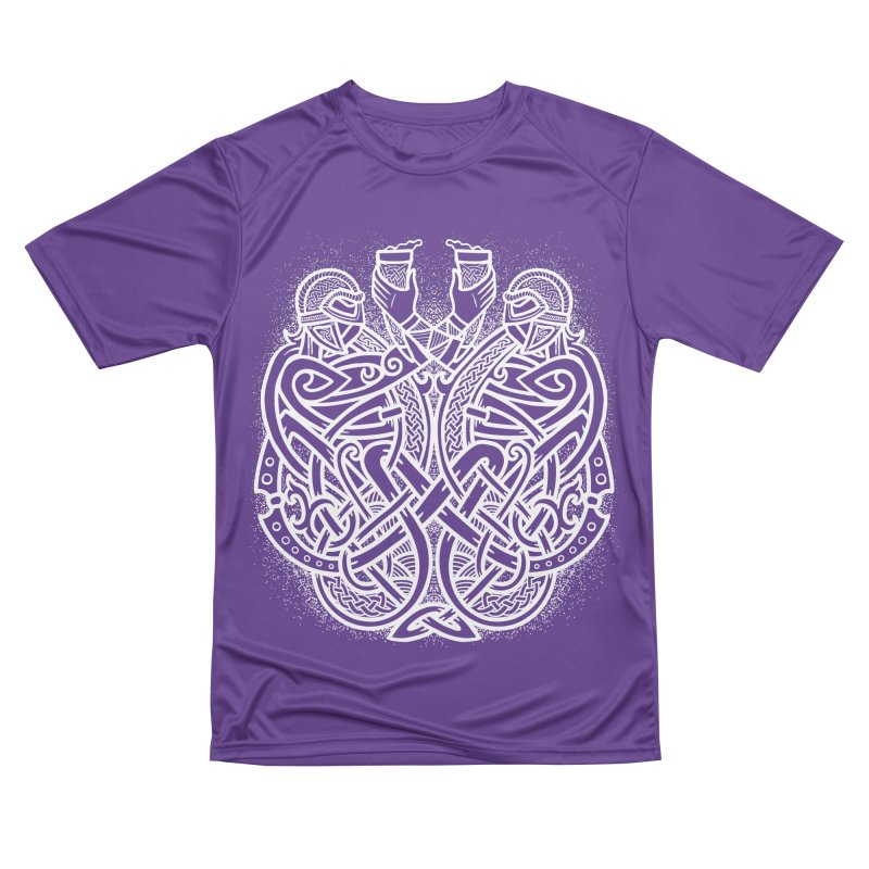 Drink to the Gods Women's Performance Unisex T-Shirt by Celtic Hammer Club