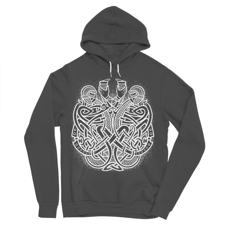 Drink to the Gods Women's Sponge Fleece Pullover Hoody by Celtic Hammer Club