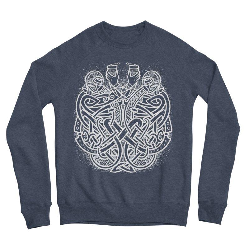 Drink to the Gods Women's Sponge Fleece Sweatshirt by Celtic Hammer Club