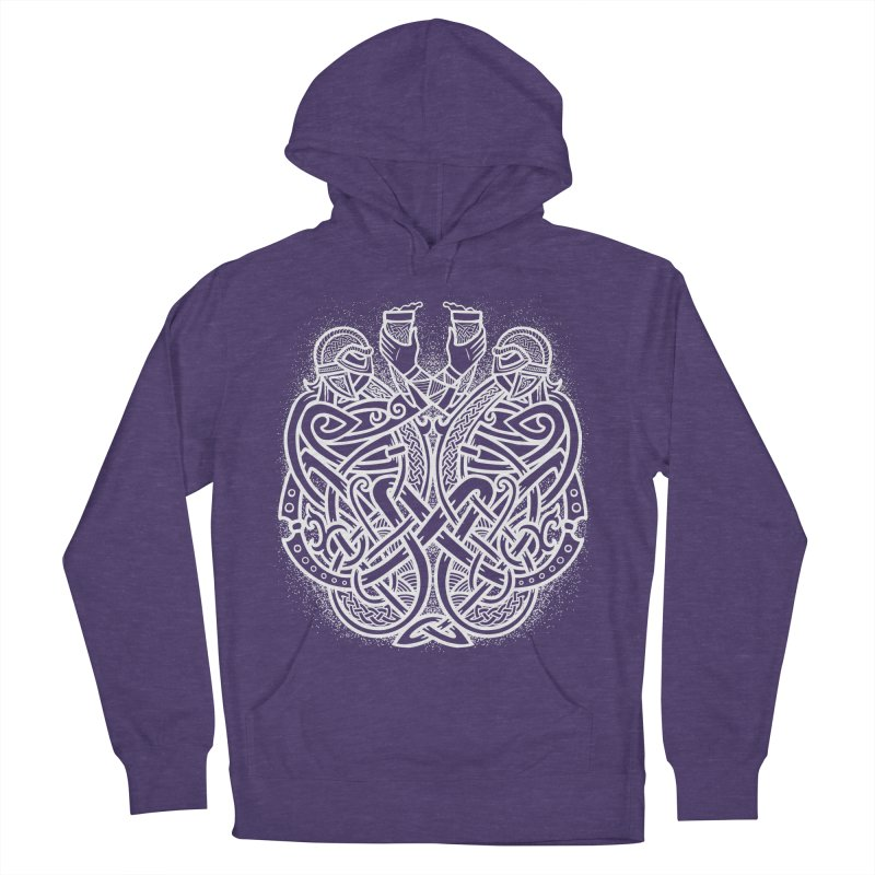Drink to the Gods Women's French Terry Pullover Hoody by Celtic Hammer Club