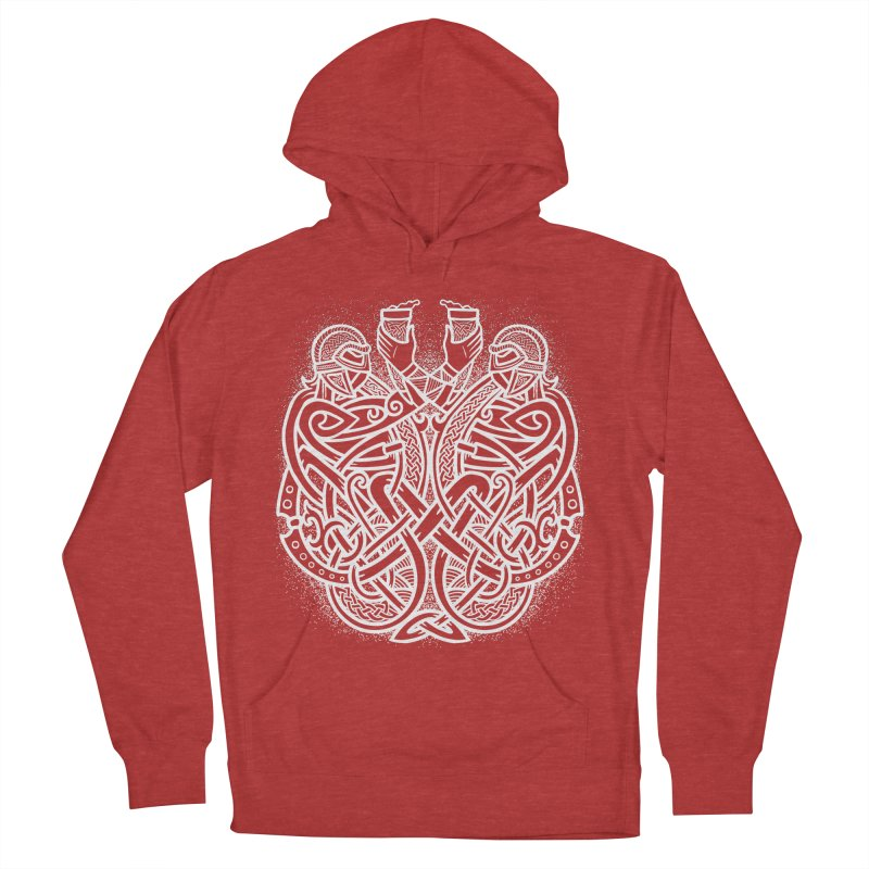 Drink to the Gods Men's French Terry Pullover Hoody by Celtic Hammer Club