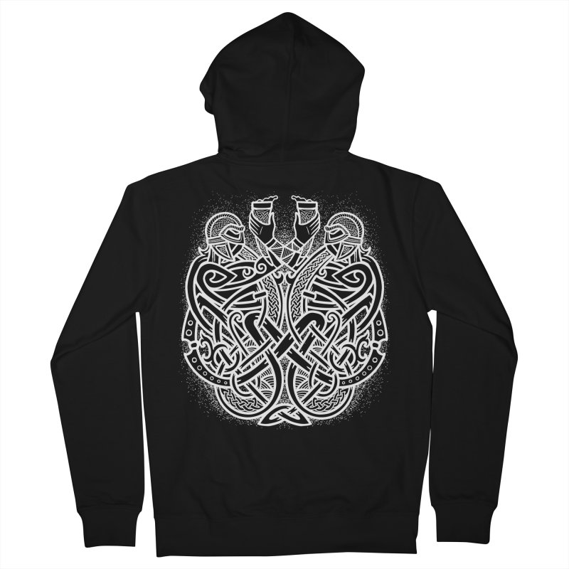 Drink to the Gods Women's French Terry Zip-Up Hoody by Celtic Hammer Club